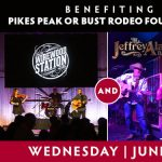 Pikes Peak or Bust Benefit Concert presented by Boot Barn Hall at Boot Barn Hall at Bourbon Brothers, Colorado Springs CO