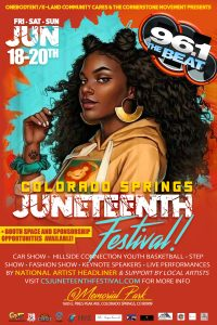 Colorado Springs Juneteenth Festival presented by Peak Radar Live: 'Lady Day at Emerson's Bar & Grill' at America the Beautiful Park, Colorado Springs CO