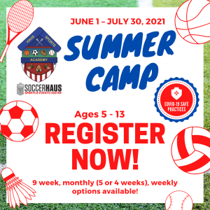 Haus Sports Academy Summer Camp presented by Haus Sports Academy Summer Camp at ,