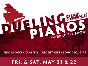 Dueling Pianos presented by Peak Radar Live: Counterweight Theater Lab's 'Dream by Day' at Boot Barn Hall at Bourbon Brothers, Colorado Springs CO