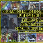 Colorado Springs Comic and Toy Con presented by  at Chapel Hills Mall, Colorado Springs CO
