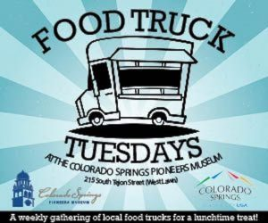 Food Truck Tuesdays presented by Colorado Springs Pioneers Museum at Colorado Springs Pioneers Museum, Colorado Springs CO
