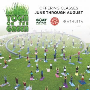 Yoga On The Green presented by Broadmoor World Arena at The Broadmoor World Arena, Colorado Springs CO