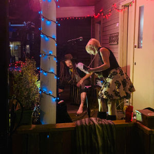 Front Porch Series: Blue Frog with Leo & the Lark presented by Front Range Barbeque at ,