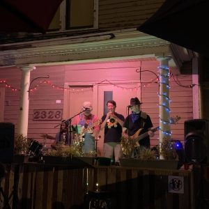 Front Porch Series: Blue Frog with Chauncy Crandall presented by Front Range Barbeque at Front Range Barbeque, Colorado Springs CO