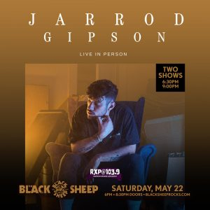 Jarrod Gipson presented by The Black Sheep at The Black Sheep, Colorado Springs CO