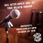 Open Mic Night presented by The Black Sheep at The Black Sheep, Colorado Springs CO