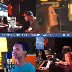 Recording Arts Summer Camp presented by Colorado Springs Conservatory at Colorado Springs Conservatory, Colorado Springs CO