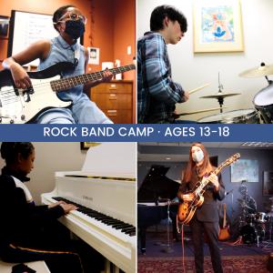Rock Band Summer Camp presented by Colorado Springs Conservatory at Colorado Springs Conservatory, Colorado Springs CO