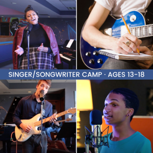 Singer/Songwriter Summer Camp presented by Colorado Springs Conservatory at Colorado Springs Conservatory, Colorado Springs CO