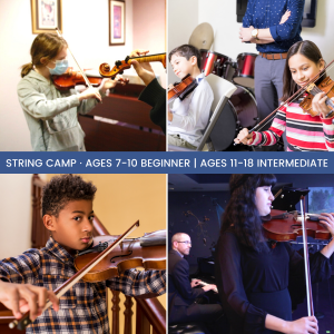 Summer String Camp presented by Colorado Springs Conservatory at Colorado Springs Conservatory, Colorado Springs CO