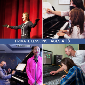 Summer Camp: Music Private Lessons presented by Colorado Springs Conservatory at Colorado Springs Conservatory, Colorado Springs CO