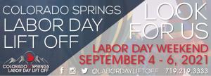 Colorado Springs Labor Day Lift Off presented by Peak Radar Live: Green Box Arts Festival at Memorial Park, Colorado Springs, Colorado Springs CO
