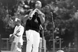 Sax In The Gardens: A Jazzy Affair with Tony Exum Jr. presented by Miramont Castle Museum at Miramont Castle, Manitou Springs CO
