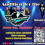 CALL FOR AUDITIONS: Oxymorons Comedy group presented by Oxymorons Comedy at ,