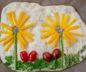 Garden Art Focaccia presented by Gather Food Studio & Spice Shop at Gather Food Studio, Colorado Springs CO