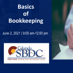 Basics of Bookkeeping presented by Pikes Peak Small Business Development Center at Online/Virtual Space, 0 0