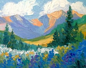 'Heart of the Mountains' presented by Laura Reilly Fine Art Gallery and Studio at Laura Reilly Studio, Colorado Springs CO