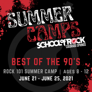 Summer Music Camp: Best of the 90's presented by School of Rock at ,