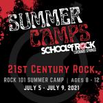 Summer Music Camp: 21st Century Rock at School of Rock presented by School of Rock at ,