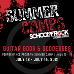 Summer Music Camp: Guitar Gods & Goddesses at School of Rock presented by School of Rock at ,