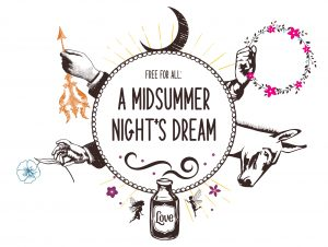 Free For All: A Midsummer Night's Dream presented by Theatreworks at Memorial Park, Manitou Springs, Manitou Springs CO