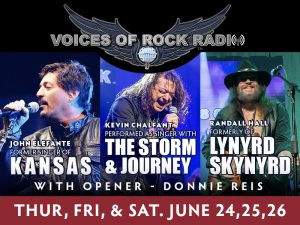 Voices of Rock Radio presented by Boot Barn Hall at Boot Barn Hall at Bourbon Brothers, Colorado Springs CO