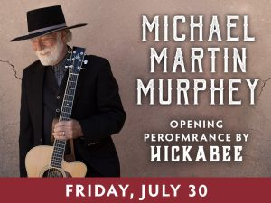 Michael Marlin Murphey presented by Boot Barn Hall at Boot Barn Hall at Bourbon Brothers, Colorado Springs CO