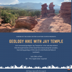 Geology Hike with Jay Temple presented by Garden of the Gods Visitor & Nature Center at Garden of the Gods Visitor and Nature Center, Colorado Springs CO