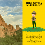 Hike with a Naturalist presented by Garden of the Gods Visitor & Nature Center at Garden of the Gods Visitor and Nature Center, Colorado Springs CO