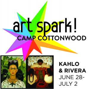 Art Spark! Summer Day Camp: Kahlo & Rivera presented by Cottonwood Center for the Arts at Cottonwood Center for the Arts, Colorado Springs CO