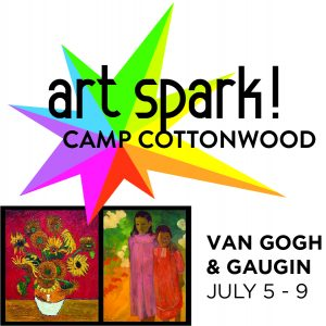 Art Spark! Summer Day Camp: Van Gogh & Gaugin presented by Cottonwood Center for the Arts at Cottonwood Center for the Arts, Colorado Springs CO