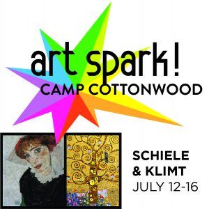 Art Spark! Summer Day Camp: Schiele & Klimt presented by Cottonwood Center for the Arts at Cottonwood Center for the Arts, Colorado Springs CO