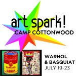 Art Spark! Summer Day Camp: Warhol & Basquiat presented by Cottonwood Center for the Arts at Cottonwood Center for the Arts, Colorado Springs CO