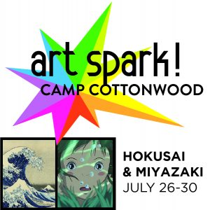 Art Spark! Summer Day Camp: Hokusai & Miyazaki presented by Cottonwood Center for the Arts at Cottonwood Center for the Arts, Colorado Springs CO