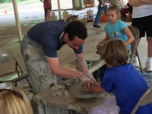 Poetry and Pottery in the Park presented by Poetry Heals at Soda Springs Park, Manitou Springs CO