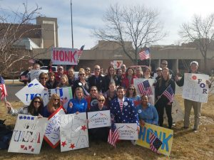 Honk & Wave for Team USA: Olympic Games Tokyo 2020 presented by City of Colorado Springs at ,