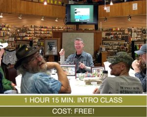 Introduction to Fly Fishing presented by Anglers Covey Fly Shop at Anglers Covey Fly Shop, Colorado Springs CO