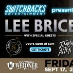 Lee Brice with Gabby Barret and Jimmie Allen presented by  at Weidner Field, Colorado Springs CO