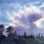 Watercolor Workshop: Sky Studies in Watercolor presented by  at Online/Virtual Space, 0 0
