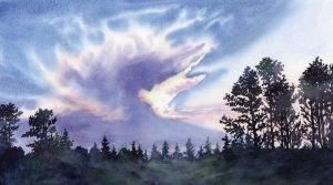 Watercolor Workshop: Sky Studies in Watercolor presented by Watercolor Workshop at Online/Virtual Space, 0 0