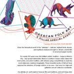 Oaxaca's 'Alebrijes' Folk Art presented by PILLAR Institute for Lifelong Learning at Online/Virtual Space, 0 0