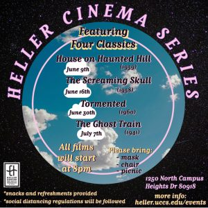 """Heller Cinema Series: """"Tormented"""" presented by Heller Center for Arts and Humanities at UCCS at UCCS - The Heller Center, Colorado Springs CO"""