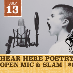 Hear Here Poetry Open Mic & Slam presented by Hear Here Poetry at ,