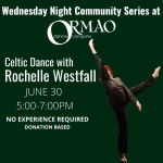 Celtic Dance with Rochelle Westfall presented by Ormao Dance Company at Ormao Dance Company, Colorado Springs CO