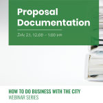 How to do Business with the City: Proposal Documentation presented by Pikes Peak Small Business Development Center at Online/Virtual Space, 0 0