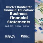 Business Financial Statements: BBVA's Center for Financial Education presented by Pikes Peak Small Business Development Center at Online/Virtual Space, 0 0