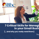 Seven Critical Skills for Managing Conflict in your Small Business presented by Pikes Peak Small Business Development Center at Pikes Peak Small Business Development Center (SBDC), Colorado Springs CO