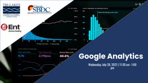 Learn Google Analytics presented by Pikes Peak Small Business Development Center at ,