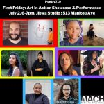 Art in Action Showcase and Performance presented by Manitou Art Center at Manitou Art Center, Manitou Springs CO